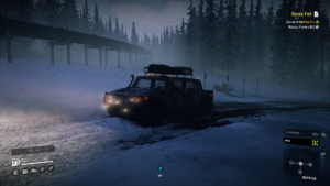 Screenshot from SnowRunner