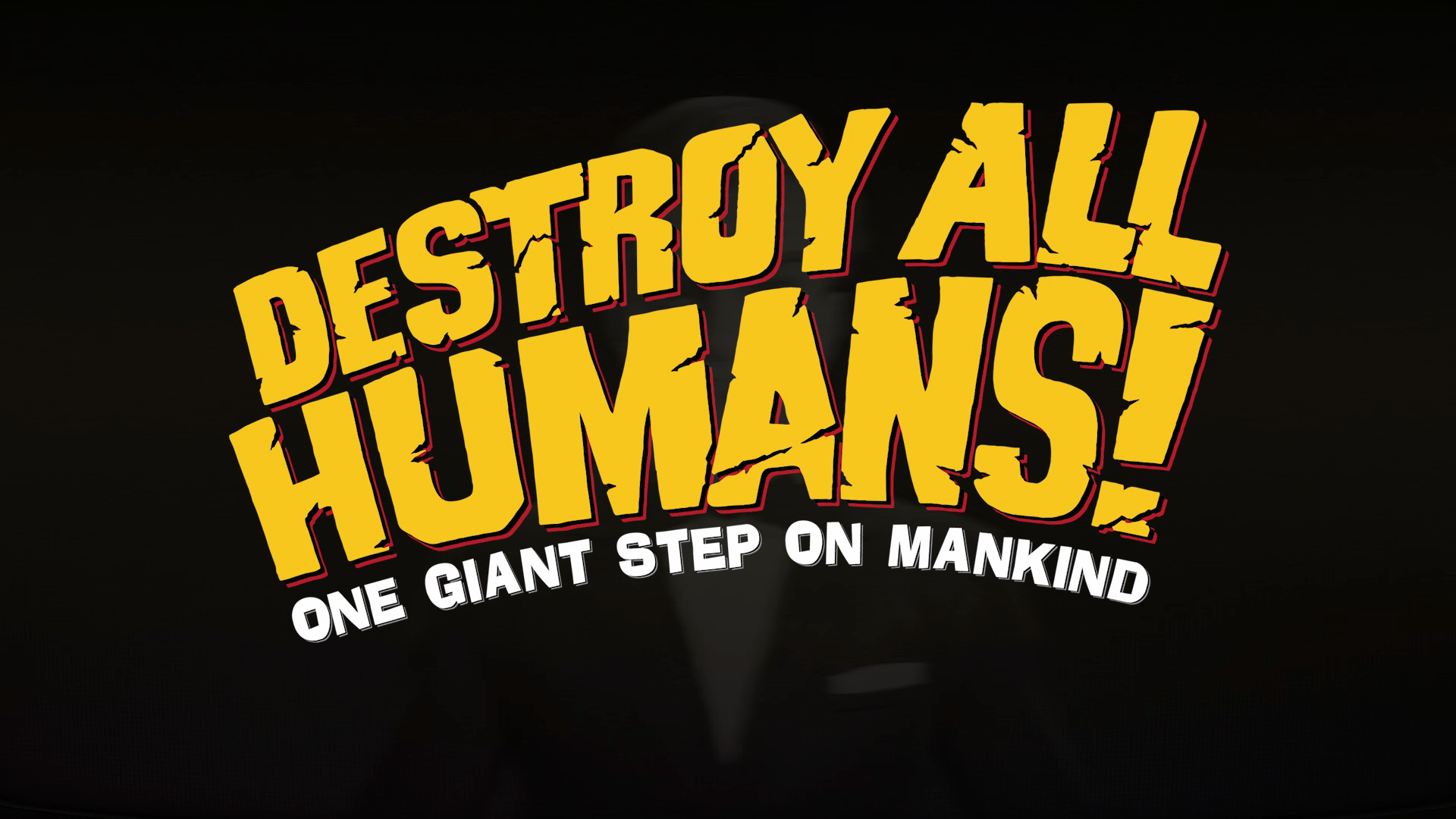 Destroy All Humans! screenshot on Xbox One.