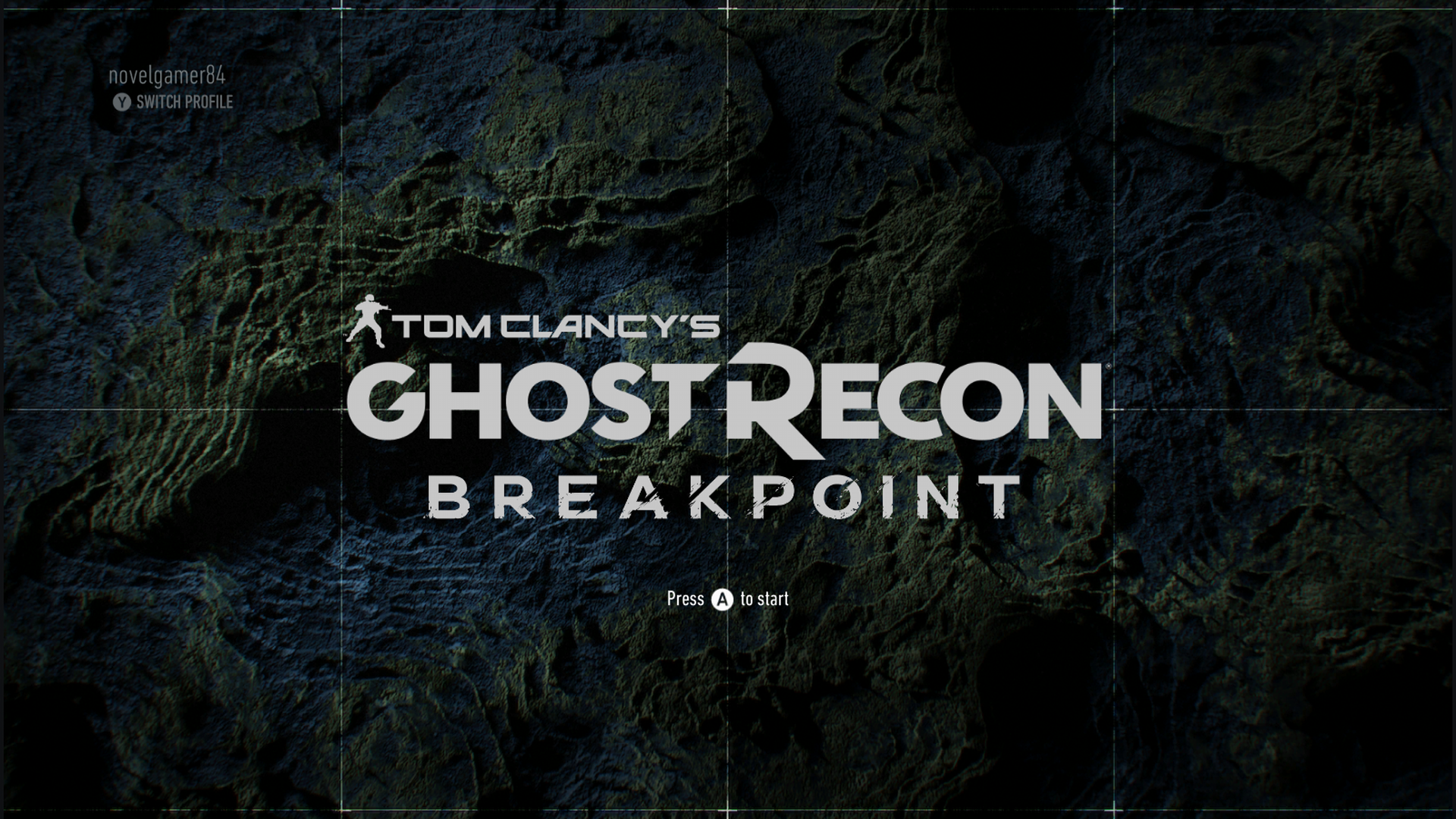 Ghost Recon Breakpoint Screen