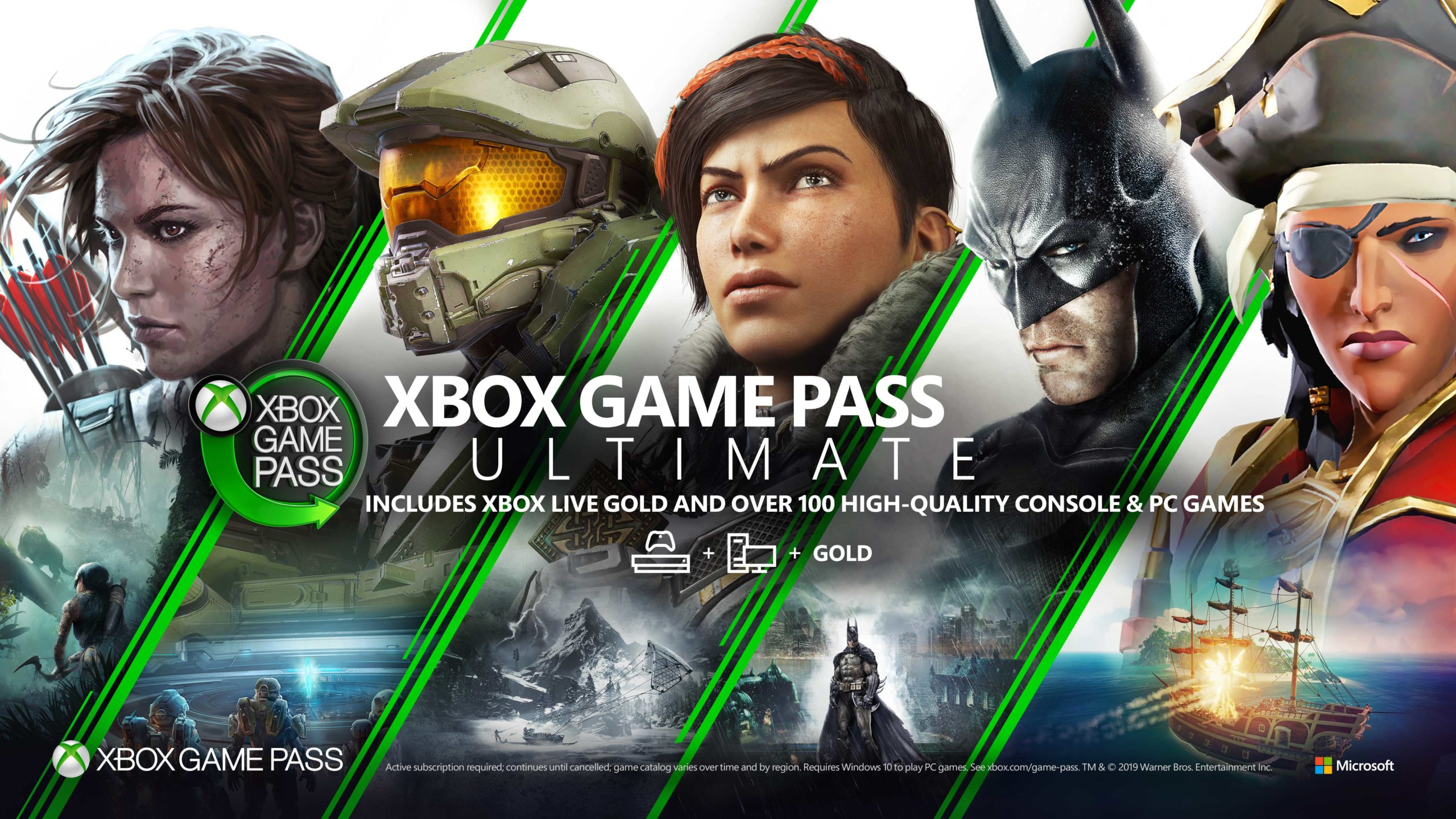 Xbox Game Pass Graphic