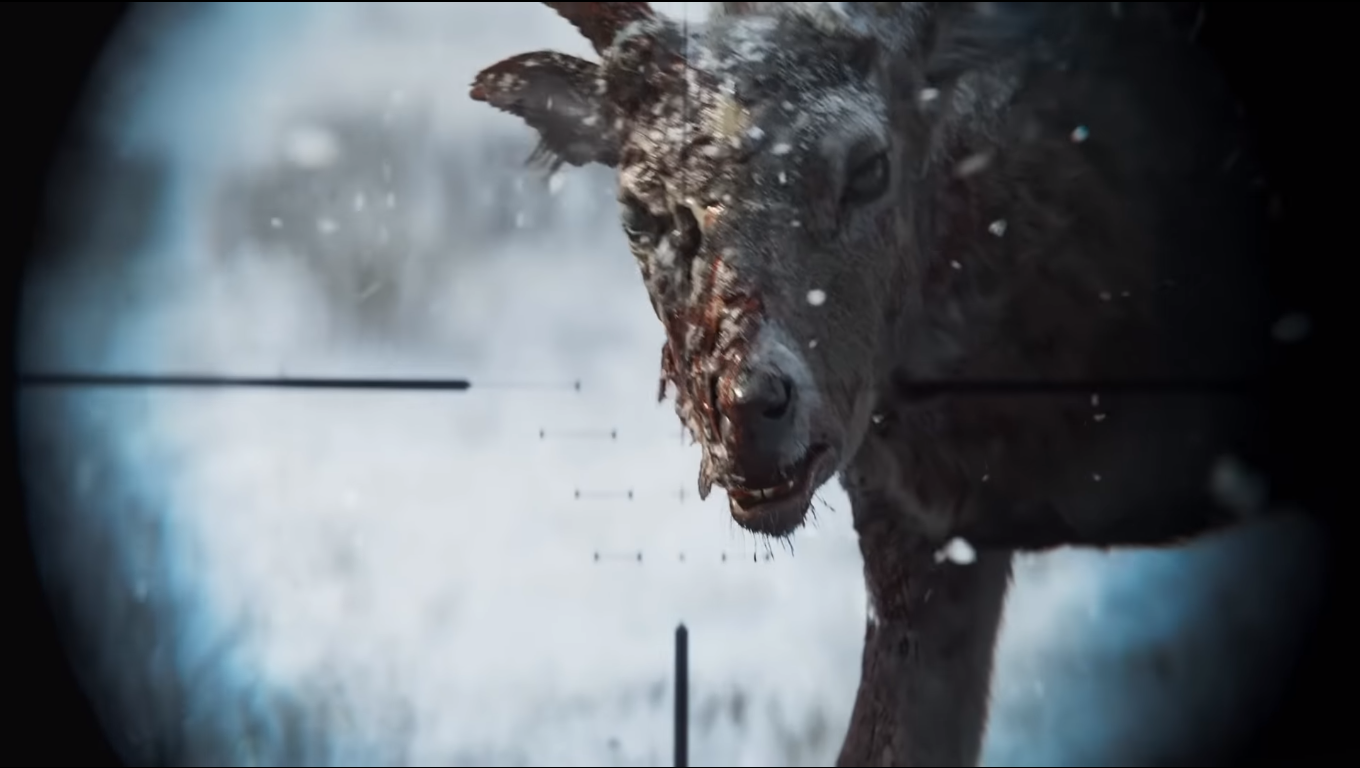 A Zombie Deer from State of Decay 3
